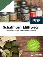 SCHULZ_Christoph - Schaff den Muell weg (Zero Waste)