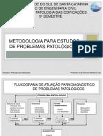 Aula 4 - Metodologia Para Estudos de Problemas PatolAgicos