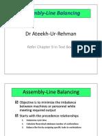 04_Assembly Line Balancing
