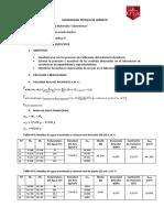 Calibracion de Material Volumetrico