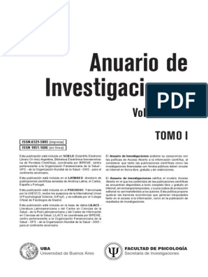ANUARIO 2014 pdf | Teoría de apego | Organización Panamericana de la