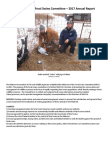 Midwest Ad‐hoc Feral Swine Committee (MFSC) yearly report 2017