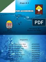 Pérdida por Accesorios - Mecánica de Fluídos