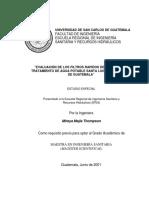Analisis de Filtros Guatemala