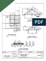 As Built Plan of One Storey Residential Bldg-st2