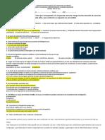 Correccion Examen 1 y 2 1ero de Bachillerato