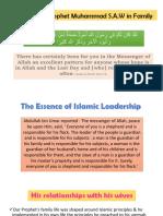 Leadership in Prophet Muhammad