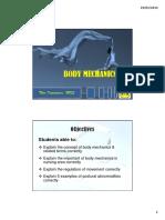Body Mechanics (1)