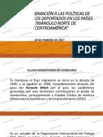 FOSDEH-Aproximación a Las Políticas de Atención a Los Deportados en Los Países Del Triángulo Norte de Centroamérica