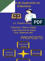 Manual Oruro