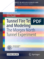 Borghetti - Tunnel Fire Testing and Modeling the Morgex North Tunnel Experiment