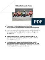 Grand Prix Motorcycle Racing (( MOTO GP )