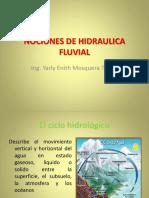 10. Nociones de Hidraulica Fluvial