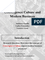 Convergence Culture and Modern Business.pptx