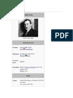 Stefan Zweig - Datos Biográficos