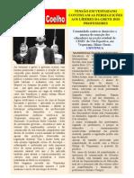TENSÃO EM VESPASIANO CONTINUAM AS PERSEGUIÇÕES CONTRA OS LÍDERES DA GREVE DOS PROFESSORES