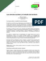 Las ciencias sociales y el estudio del territorio.pdf