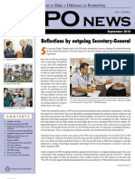 Asian Productivity Organization Monthly Newsletter September 2010