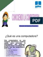 Conociendo La Computadora