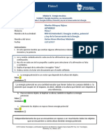 8.- MIV-U2- Actividad 2. Energías Cinética, Potencial y Ley de La Conservación de La Energía