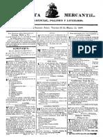 Periódico Gaceta Mercantil (Argentina, 1827)