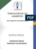 Diapositiva 6.1 Biotoxinas Marinas 1