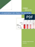 CUaderno de Practicas de Pcm