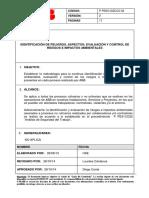 P PESO13ZCCO-02 Identificación de Peligros, Aspectos, Evaluación y Contr...