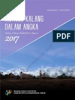 Kecamatan Antang Kalang Dalam Angka 2017