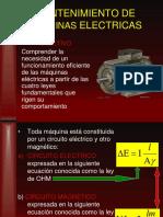 Mantenimiento de Maquinas Electricas