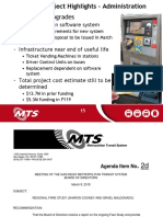 MTS fare system and farestudy