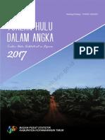 Kecamatan Tualan Hulu Dalam Angka 2017