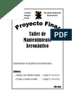 PF - Taller de Mantenimiento Aeronáutico