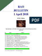 Bulletin 180401 (HTML EDition)