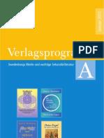 Swedenborg Verlag | Verlagsprogramm A | Januar 2011