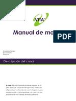 Manual de Marca - Vita TV