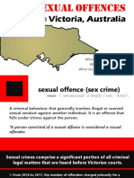 Sexual Offences in Victoria, Australia
