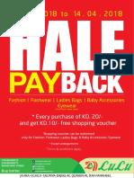 Half Pay Back