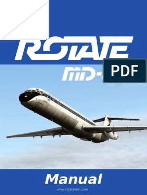 Rotate MD 80 Manual | Switch | Electric Generator