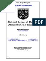 Punjab Police Portal Doc FRTemplate Software