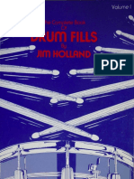 Jim Holland - The Complete Book of Drum Fills