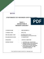 Test 1 Geotech 1