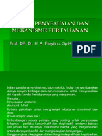 h. a. Prayitno. Proses Penyesuaian Dan Mekanisme Pertahanan
