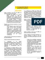 Lectura - La Inspección Laboral (1)
