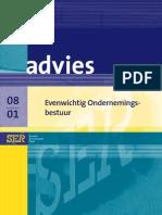 Advies evenwichtig ondernemingsbestuur (SER 2008)