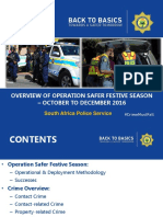Safer Festive Season January Media Briefing 2017 Final Version (2)