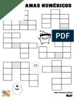Crucigramas numericos dificultad2