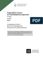 Org Theory - London University