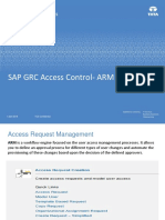 SAP GRC Access Control- ARM