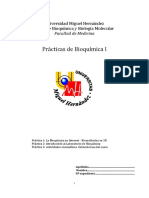 Guión de Prácticas de Bioquímica I 15 16